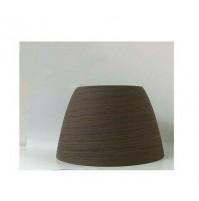 Cappello Linea Light Originale Cupolè Wengè Vetro Centrifugato D 39 cm NCVE0015