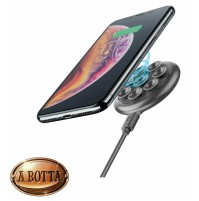 Caricabatterie Senza Fili Cellularline OCTOPUS WIRELESS CHARGER a Ventose iPhone