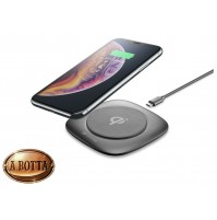 Caricabatterie Senza Fili Cellularline WIRELESS FAST CHARGER EASY 10 Watt iPhone