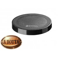 Caricabatterie Senza Fili Sycell WIRELESS CHARGER Nero x Smartphone e iPhone