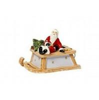 Carillon Slitta con Babbo Natale VILLEROY & BOCH Christmas Nostalgic Melody