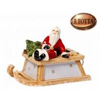 Carillon Slitta con Babbo Natale VILLEROY & BOCH Christmas Nostalgic Melody 2016