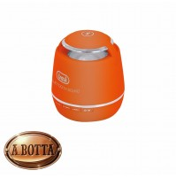 Cassa Audio Amplificata 3 W TREVI XP 71 BT Arancio Mini Speaker Bluetooth e Led