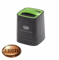 Cassa Audio Amplificata 3 W TREVI XP 72 BT Verde Mini Speaker Bluetooth Vivavoce
