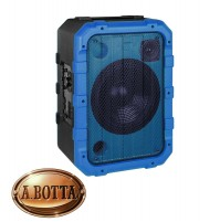 Cassa Audio Speaker 80 Watt Trevi XF 1300 Beach Blu IPX4 Splash Proof Luci Led