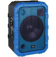 Cassa Audio Speaker 80 Watt Trevi XF 1300 Beach Blu IPX4 Splash Proof Luci Led