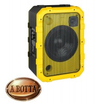 Cassa Audio Speaker 80 Watt Trevi XF 1300 Beach Giall IPX4 Splash Proof Luci Led