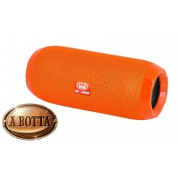 Cassa Audio Speaker Bluetooth 5 Watt Trevi XR 84 Plus Arancio + 2 Woofer Passivi