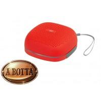 Cassa Audio Speaker Bluetooth 5 Watt Trevi XR Jump XR 8A15 Rosso IPX5 + Led