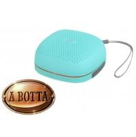 Cassa Audio Speaker Bluetooth 5 Watt Trevi XR Jump XR 8A15 Turchese IPX5 + Led