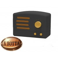 Cassa Audio Speaker Bluetooth AKAI R50BT Nero Vintage Retrò Design con Radio FM