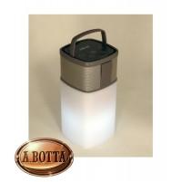 Cassa Audio Speaker Bluetooth Akai AKBT65 Lanterna con Luci Led Multicolor 5 W