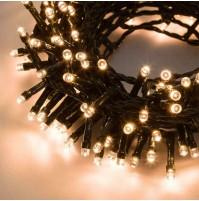 Catena 180 Luci Mini LED per Albero di Natale Bianco Caldo 8,95 metri da Esterno