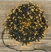 Catena 180 Luci a LED DIAMANTI per Albero di Natale Caldo 8,95 metri da Esterno