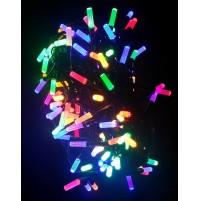 Catena 200 Luci LED OTTAGONALI Albero di Natale Multicolore 15,9 metri Esterno