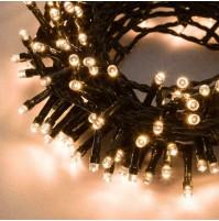 Catena 200 Luci LED con MUSICA Musicali Albero di Natale Bianco Caldo 9,95 metri
