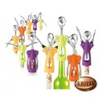 Cavatappi Leva Tappi Sughero Bottiglie Vino BRANDANI 55656 ALIENO 21 cm