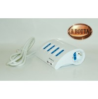 Ciabatta Presa Multipla da Scrivania Alphi CB/604 - Multipresa Shuko USB Biprese