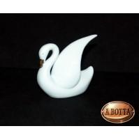 Cigno in Porcellana Bianca da Dipingere e Confezionare - Bomboniere Decoupage