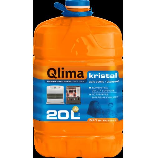Combustibile Liquido Kristal 20 Litri per Stufe Zibro Kamin Qlima Petrolio NUOVO