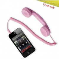 Cornetta HI-RING MINI BLUETOOTH Rosa Originale Hi-Fun Auricolare iPhone skype