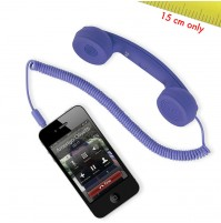 Cornetta HI-RING MINI Viola originale Hi-Fun - iPhone skype auricolare -