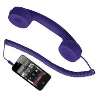 Cornetta HI-RING Viola Originale Hi-Fun - iPhone Auricolare Skype -