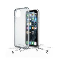 Cover Trasparente iPhone 11 PRO MAX Cellularline CLEAR DUO Custodia Gomma Rigida