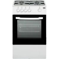 Cucina a Gas 50x50cm  4 Fuochi BEKO CSG42000DW BIANCA Forno a Gas