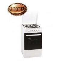 Cucina a Gas 50x60cm  4 fuochi MASTER COOK5060 EL Bianca  Forno Gas