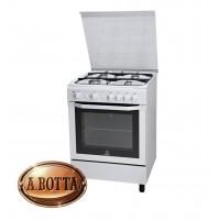 Cucina a Gas 60x60cm  4 Fuochi Indesit I6GG1FW Bianca Forno a Gas