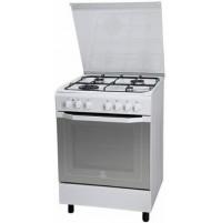 Cucina a gas 60x60cm 4 Fuochi Indesit I6TMH2AF(W)/I Bianco Forno Elettrico