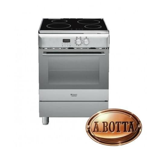 Cucina con Piano Cottura INDUZIONE Hotpoint Ariston H6IMAAC (X) Forno  Elettrico