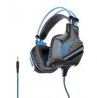 Cuffia Gaming con Microfono Karma P 10BL BLU 1 JACK