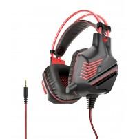 Cuffia Gaming con Microfono Karma P 10R ROSSO 1 JACK