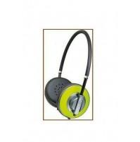 Cuffia TREVI AIR DJ 623 M VERDE con microfono incorporato jack 3,5 mm