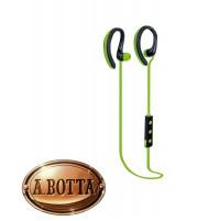 Cuffie Auricolari Bluetooth Senza Fili TREVI HMP 1215 BT Verde Microfono Sport