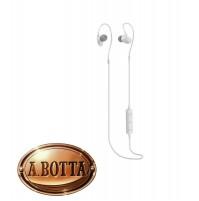 Cuffie Auricolari Bluetooth Senza Fili TREVI HMP 1218 BT Bianco Microfono iPhone