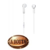 Cuffie Auricolari Trevi HMP 685 M Bianco con Microfono Smartphone iPhone EarPods