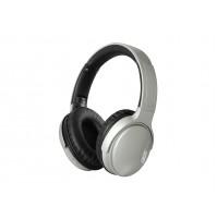 Cuffie Bluetooth Hi-Fi Stereo Trevi DJ 1301 PRO Grigio con Microfono e Micro SD