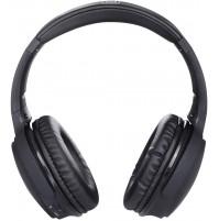 Cuffie Bluetooth Hi-Fi Stereo Trevi DJ 1301 PRO Nero con Microfono e Micro SD