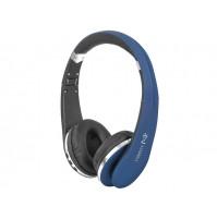 Cuffie Bluetooth TREVI DJ 1200 BT BLU con Microfono