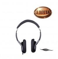 Cuffie Stereo TV Trevi HTV 639 Nero con cavo da 5 metri - Cuffia PC Notebook