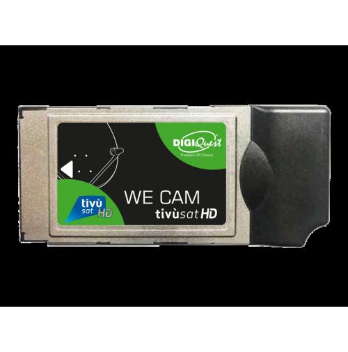 DIGIQUEST WE CAM TivùSat HD con Smartcard Smart Tivusat HD Inclusa