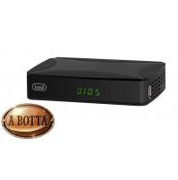 Decoder Ricevitore Digitale Terrestre DVB-T2 Trevi HE3368T2 Registra SCART HDMI