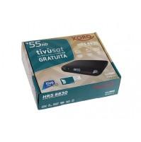 Decoder Tivù SAT HD DVB-S/S2 Xoro HRS 8830 220V-12V