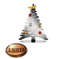Decorazione Natalizia Alessi BM06/30 Bark for Christmas Acciaio Albero Natale