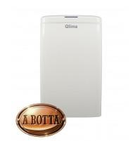 Deumidificatore Elettrico QLIMA D610 10 Litri al Giorno 63 m³ Portatile e Timer