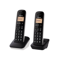 Duo Telefono Cordless Panasonic KXTGB612JTW Bianco