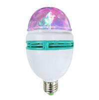 Effetto Luce Rotante 3 Led Karma CLB 3 effetto luce a led 3 x 1W attacco E27